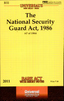 The National Security Guard Act, 1986