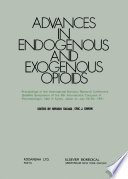 Advances in Endogenous and Exogenous Opioids