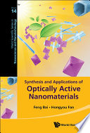 Synthesis And Applications Of Optically Active Nanomaterials Book