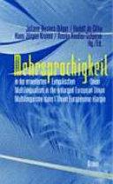 Mehrsprachigkeit in der erweiterten Europ  ischen Union
