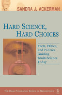 Hard Science  Hard Choices Book PDF