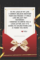 To My Love of My Life     I Wanted to Write You a Love Letter