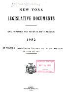 New York Legislative Documents
