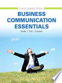 Business Communication Essentials, Fourth Canadian Edition,