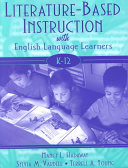 Literature based Instruction with English Language Learners  K 12 Book