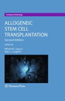 Allogeneic Stem Cell Transplantation ebook