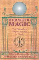 Pdf Hermetic Magic