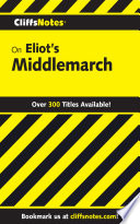 Cliffsnotes On Eliot S Middlemarch Book