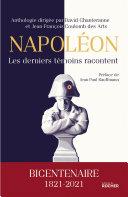 Pdf Napoléon, les derniers témoins racontent Telecharger