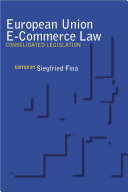 European Union E commerce Law