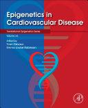 Epigenetics In Cardiovascular Disease Book PDF