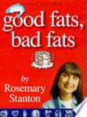 Good Fats Bad Fats Book PDF