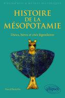Pdf Histoire de la Mésopotamie. Dieux, héros et cités légendaires Telecharger