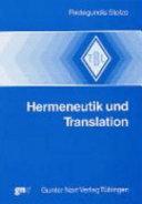 Hermeneutik und Translation