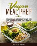 Vegan Meal Prep Book