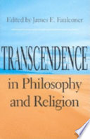 Transcendence in Philosophy and Religion Book PDF