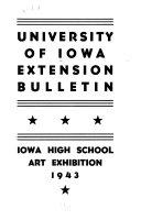 University of Iowa Extension Bulletin