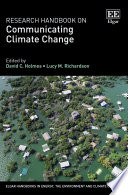 Research Handbook on Communicating Climate Change Book