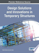 Design Solutions and Innovations in Temporary Structures Book