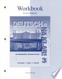 Workbook to Accompany Deutsch