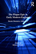 The Plague Epic in Early Modern England