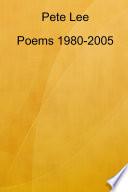 Poems 1980 2005