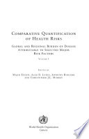 Comparative Quantification of Health Risks: Sexual and reproductive health