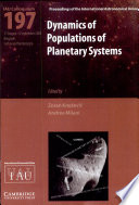 Dynamics of Populations of Planetary Systems  IAU C197