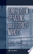 Power System Operations And Electricity Markets Book PDF