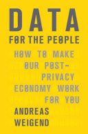 Data for the People Pdf/ePub eBook