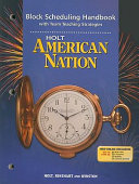 American Nation Book