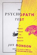 The Psychopath Test Book