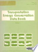 Transportation Energy Conservation Data Book  Edition 3