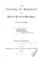 The genesis of harmony