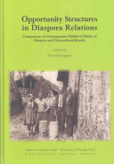 Opportunity Structures in Diaspora Relations