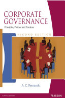 Corporate Governance: Principles, Policies and Practices: ...