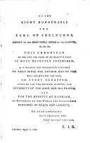 American and British Chronicle of War and Politics     from May 10  1773  to July 16  1783   The dedication is signed E  I  S