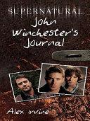 Supernatural: John Winchester's Journal Pdf/ePub eBook