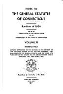The General Statutes of Connecticut  1971 Noncumulative Supplement