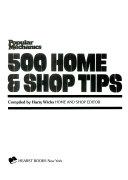 Popular Mechanics 500 Home   Shop Tips