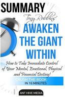 Tony Robbins' Awaken the Giant Within Summary