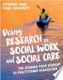Cover of Doing Research in Social Work and Social Care