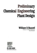 Preliminary Chemical Engineering Plant Design Book