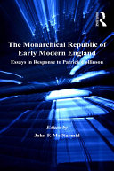 Pdf The Monarchical Republic of Early Modern England