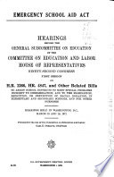 Hearings  Reports  Public Laws Book