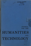 Journal for the Humanities and Technology
