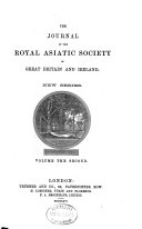 The Journal of the Royal Asiatic Society of Great Britain and Ireland