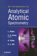 An Introduction To Analytical Atomic Spectrometry Book PDF