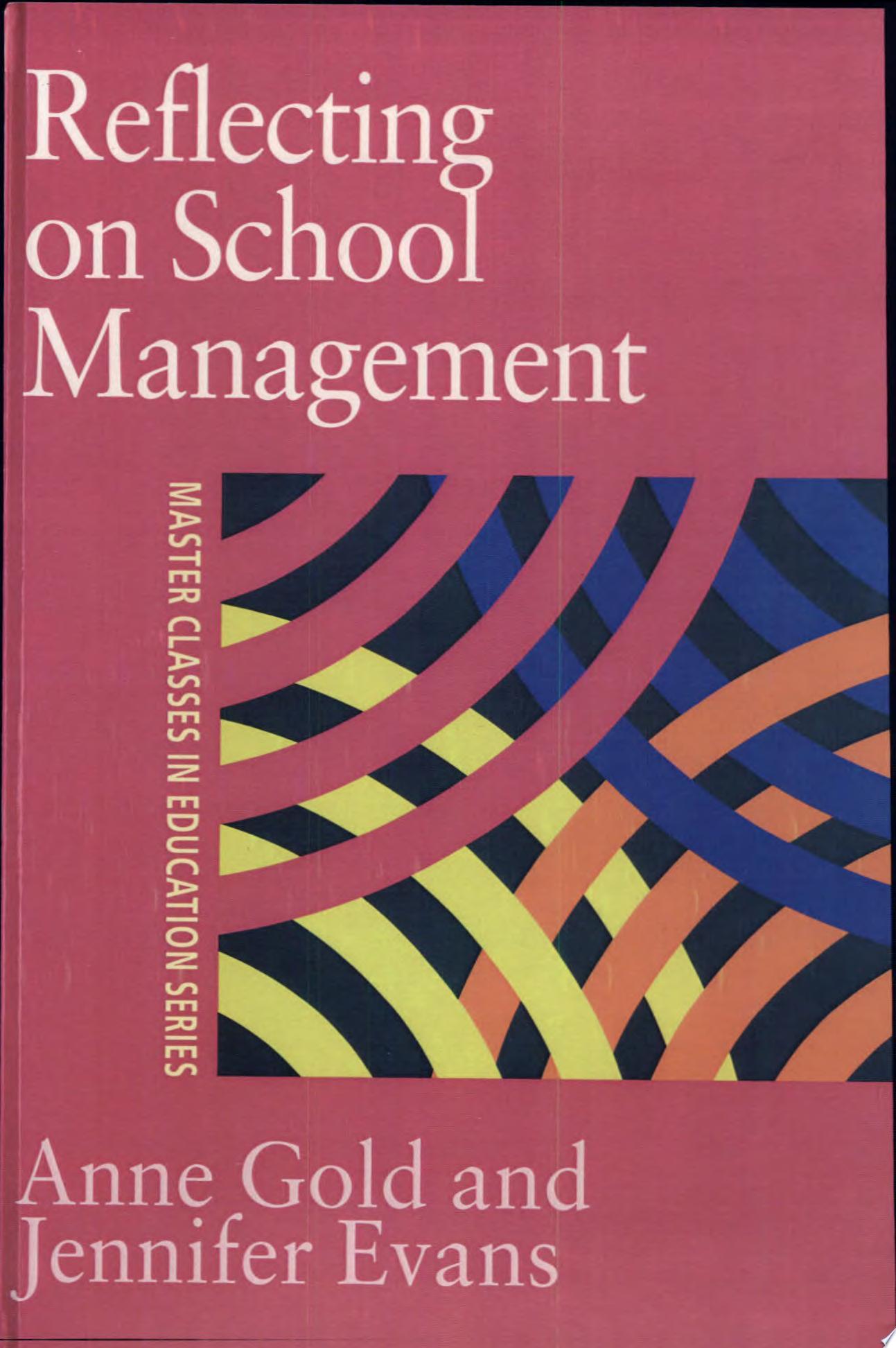 Reflecting On School Management