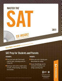 Master The SAT - 2011